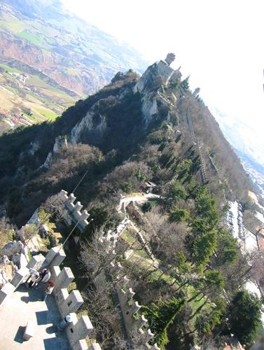 Mount Titano in San Marino
