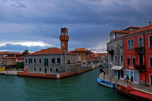 Island of Murano in Venice, Italy