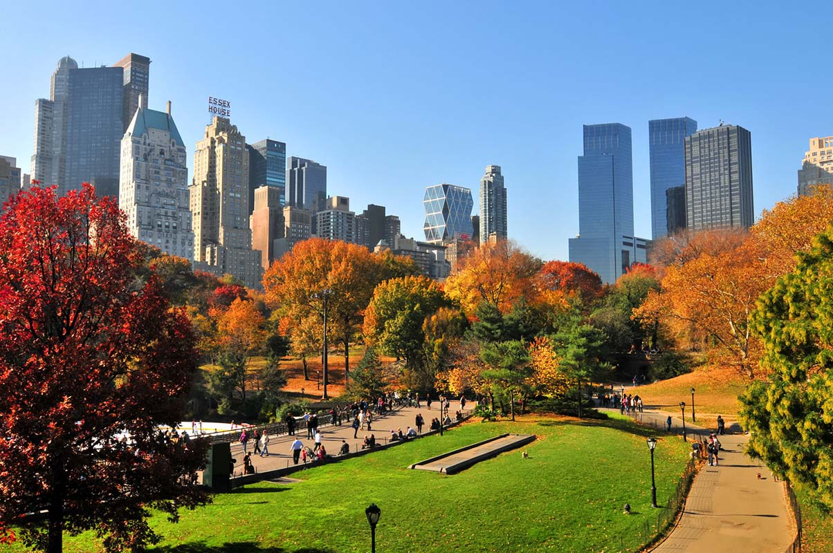 Central Park in New York, United States