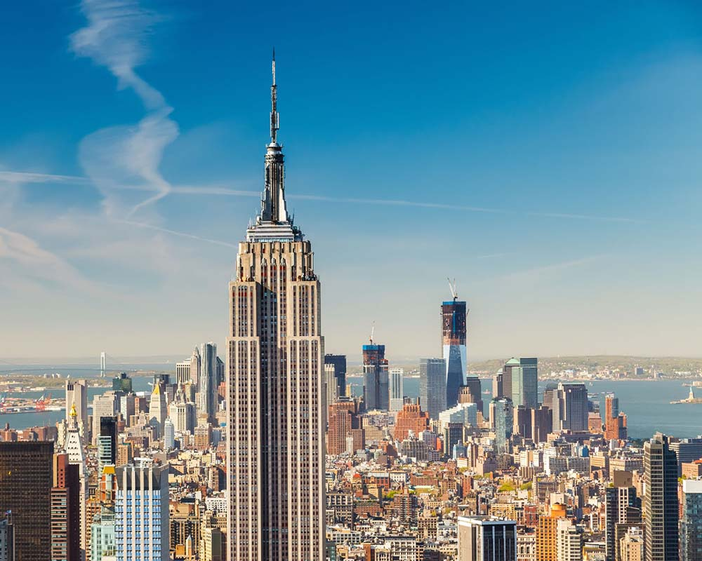 Empire State Building in New York, United States