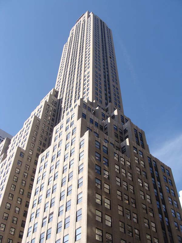 Rockefeller Center in New York, United States