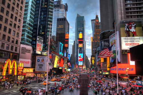Times Square in New York, United States
