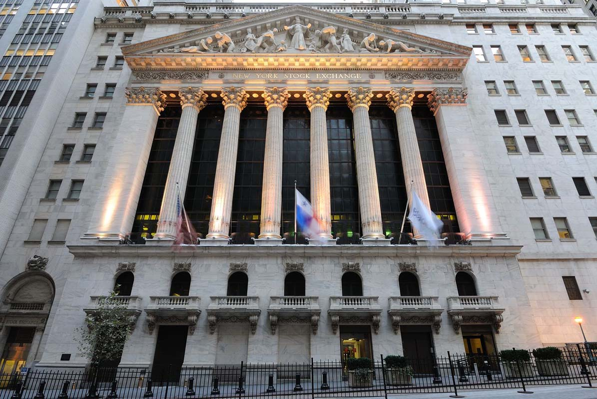 New York Stock Exchange in New York, United States
