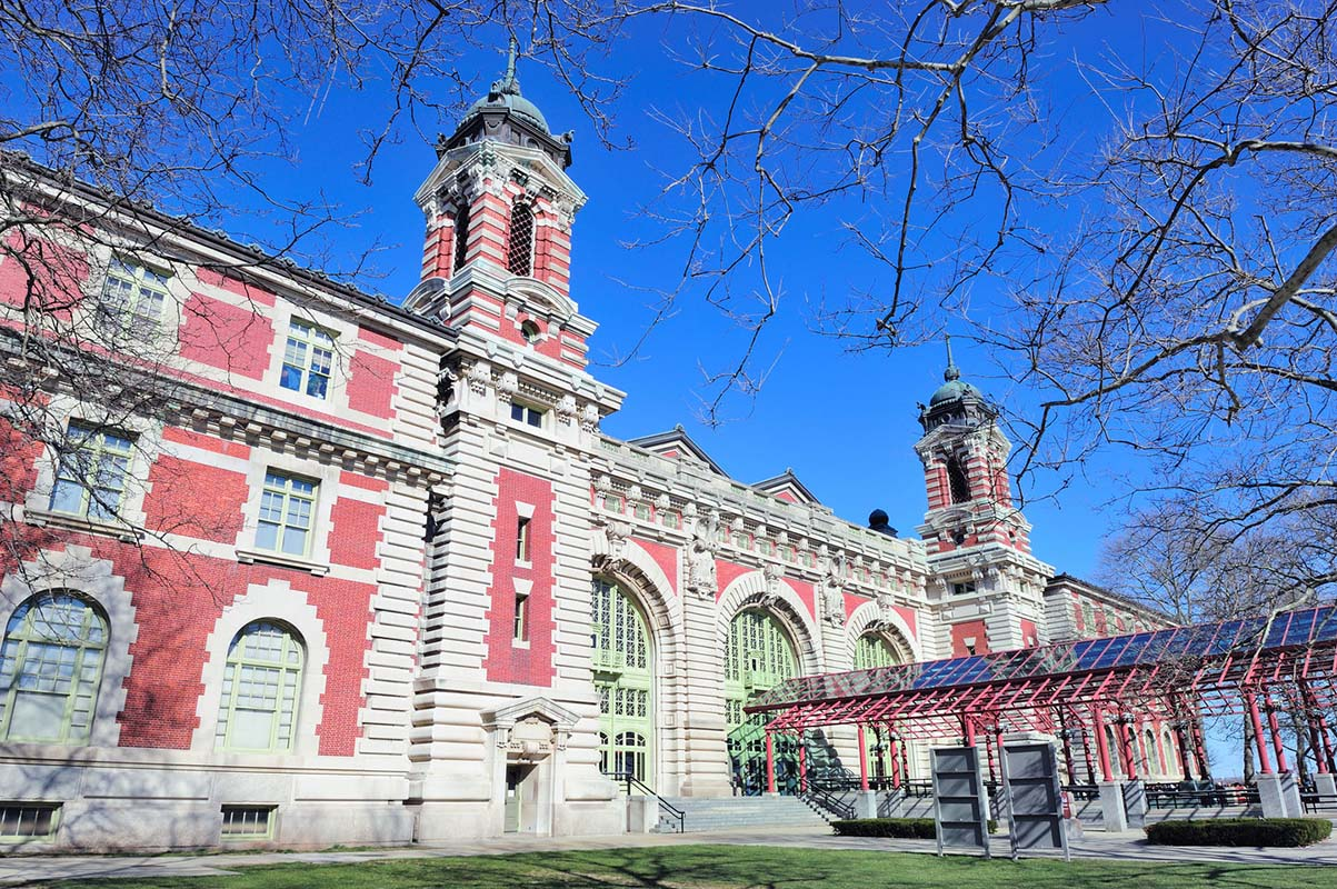 Ellis Island in New York, United States