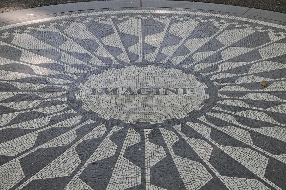 Strawberry Fields in New York, United States