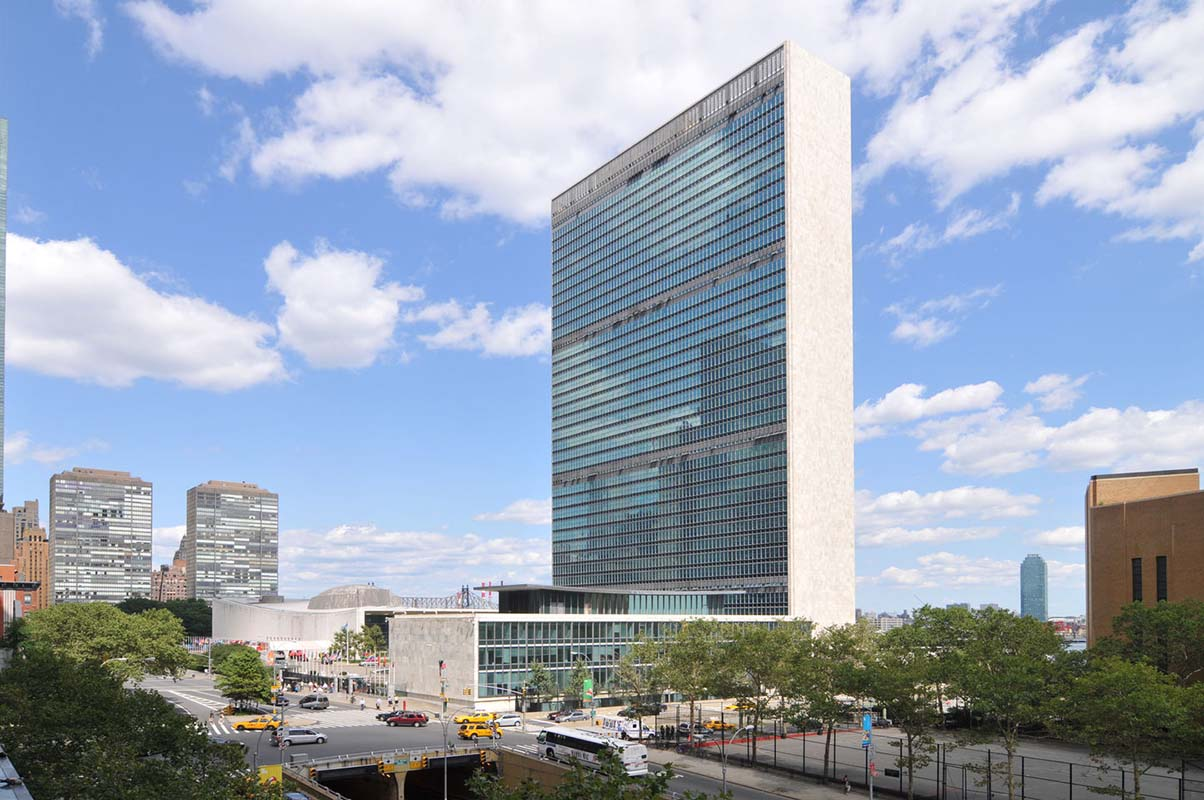United Nations Headquarters in New York, United States