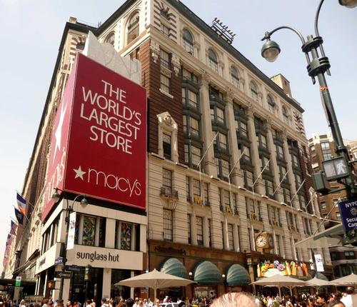 Macy&#039;s in New York, United States