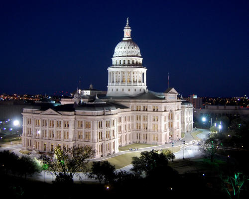 Texas State Capitol in Austin, United States