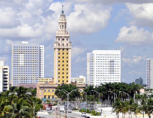 Freedom Tower in Miami, United States