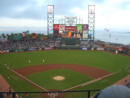 AT&T Park in San Francisco, United States