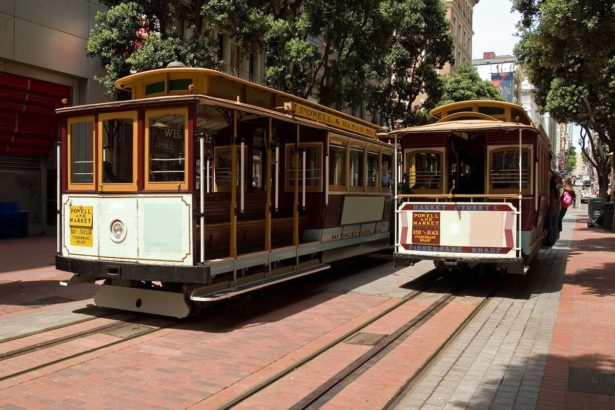 Cable Cars in San Francisco, United States