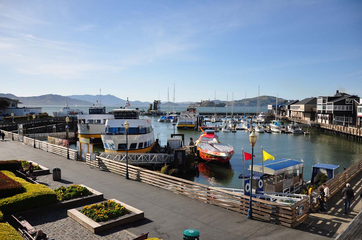 Fisherman&#039;s Wharf in San Francisco, United States
