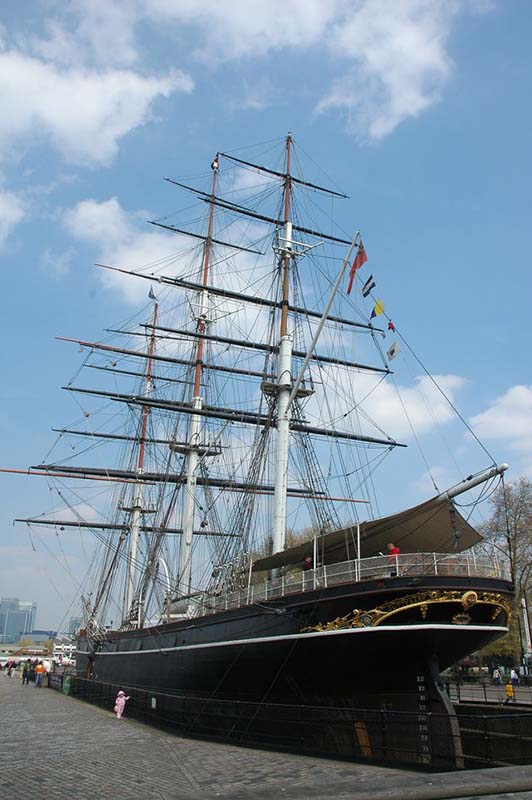 Cutty Sark in London, United Kingdom