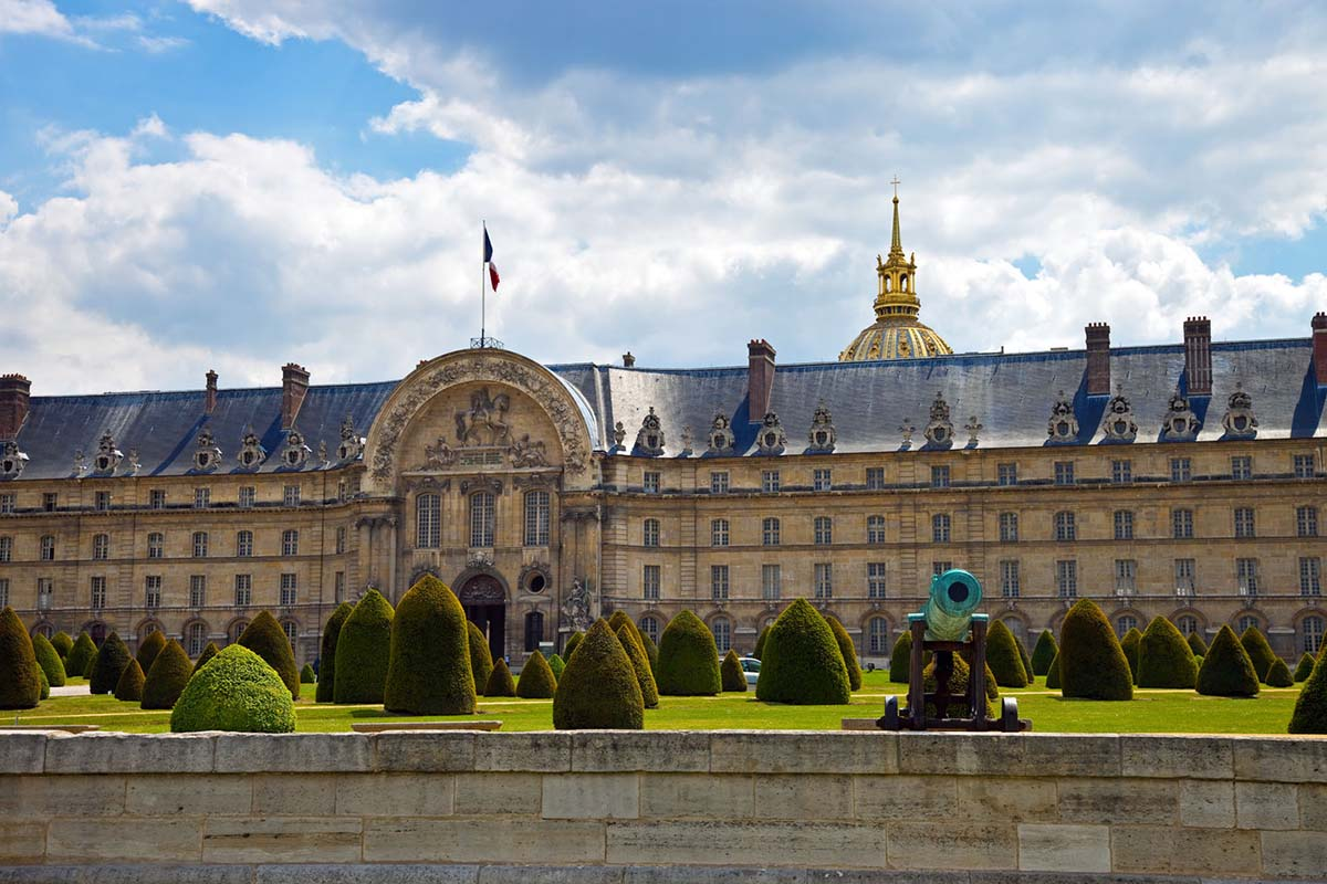 École Militaire in Paris, France