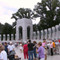National World War II Memorial in Washington, United States