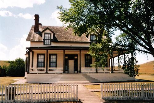 Fort Abraham Lincoln State Park in Bismarck, United States
