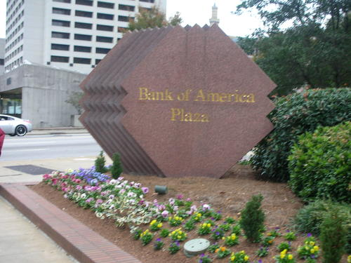 Bank of America Plaza in Atlanta, United States