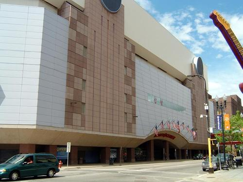 Target Center in Minneapolis, United States