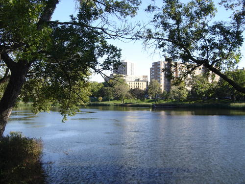 Loring Park in Minneapolis, United States