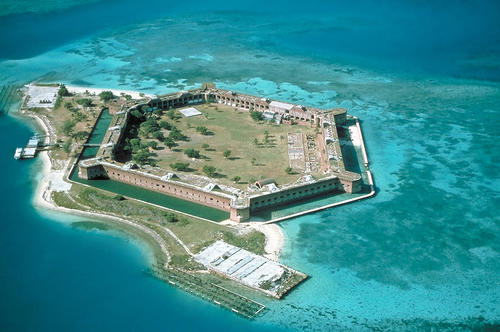 Fort Jefferson in United States