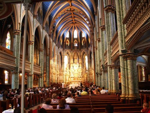 Notre-Dame Cathedral Basilica in Ottawa, Canada