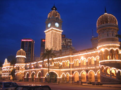 Sultan Abdul Samad Building in Kuala Lumpur, Malaysia