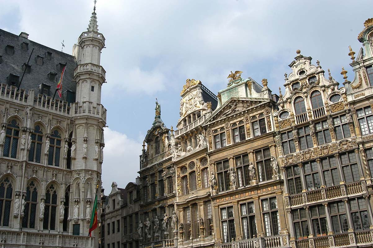 Grand Place Brussels in Brussels, Belgium