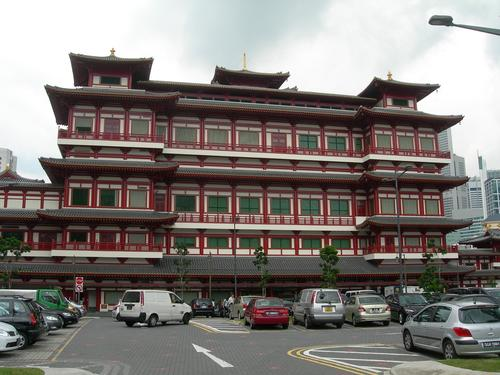 Buddha Tooth Relic Temple and Museum in Singapore, Singapore