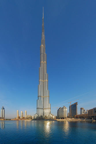 Burj Khalifa in Dubai, United Arab Emirates