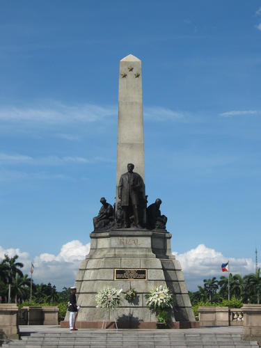 Rizal Park in Manila, Philippines