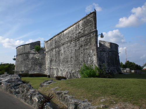Fort Fincastle in Bahamas