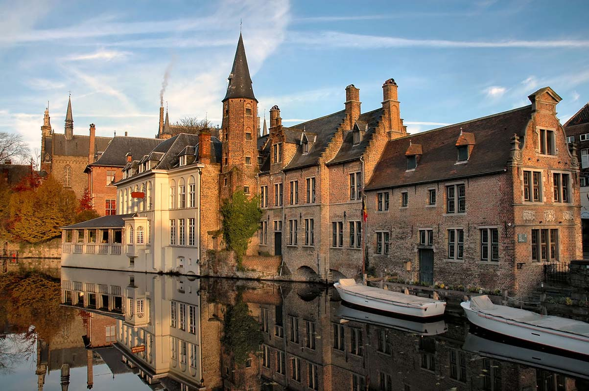 Historic Centre of Bruges in Bruges, Belgium