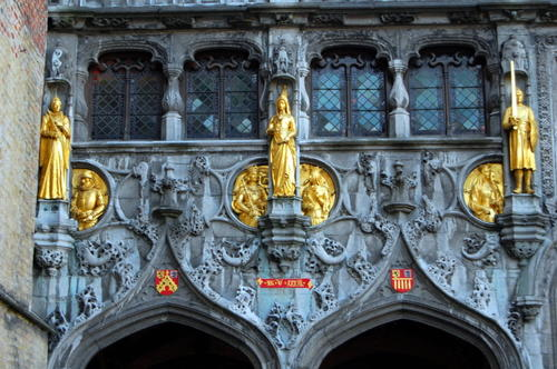 Basilica of the Holy Blood in Bruges, Belgium