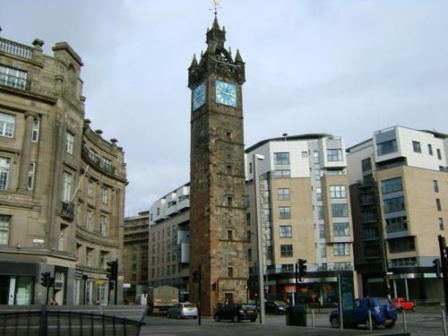 Merchant City in Glasgow, United Kingdom