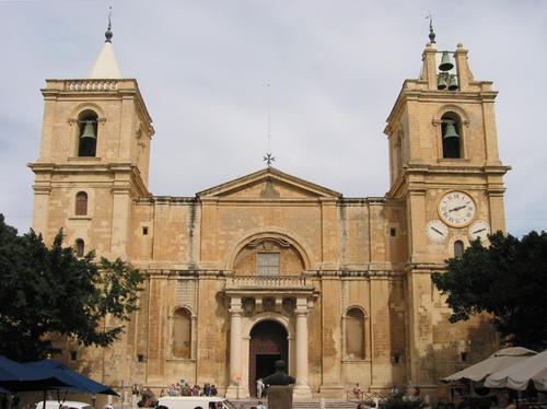 St John's Co-Cathedral in La Valletta, Malta