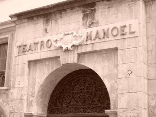 Manoel Theatre in La Valletta, Malta