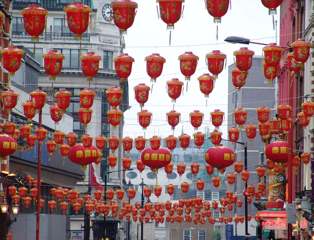 Chinatown in London, United Kingdom