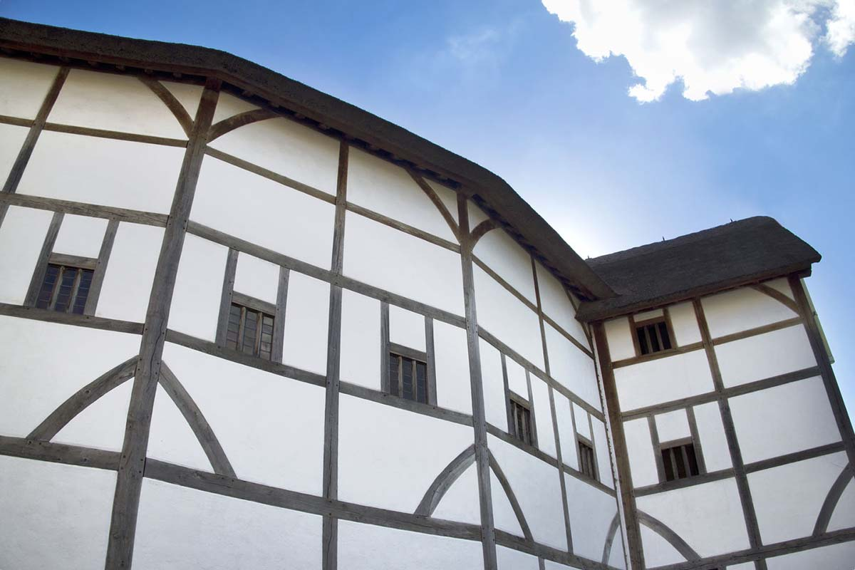 Globe Theatre in London, United Kingdom