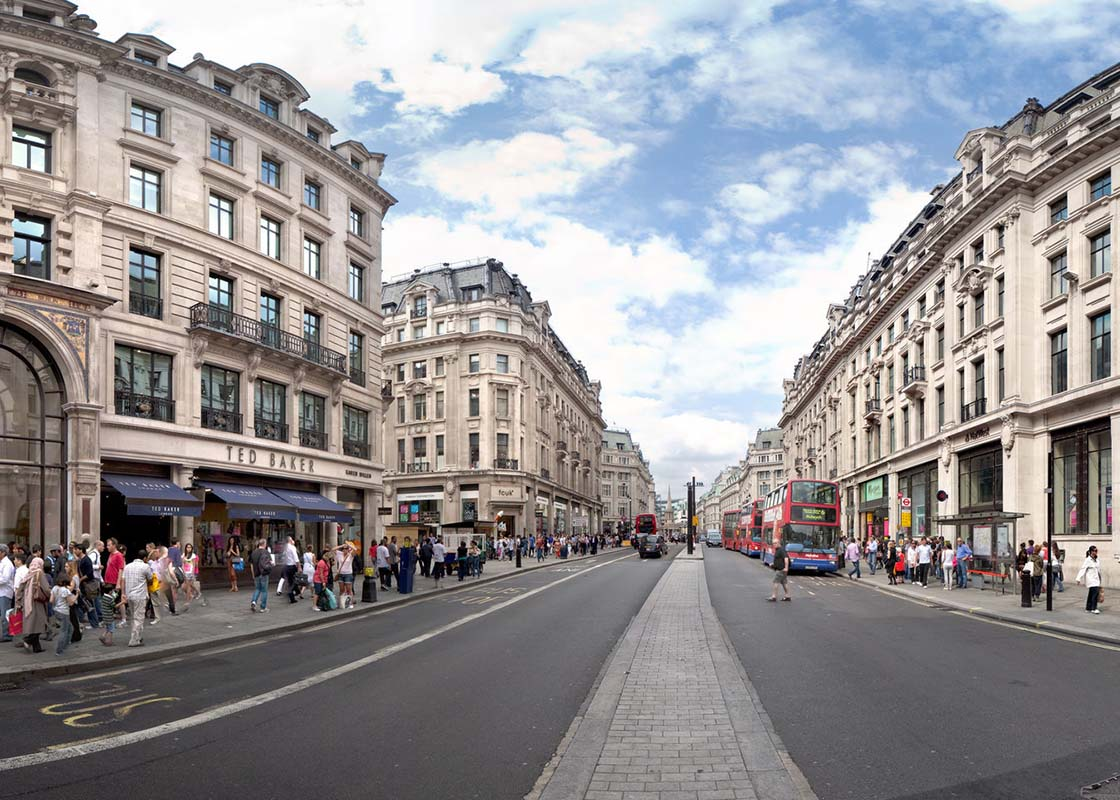 Oxford Street London in London, United Kingdom