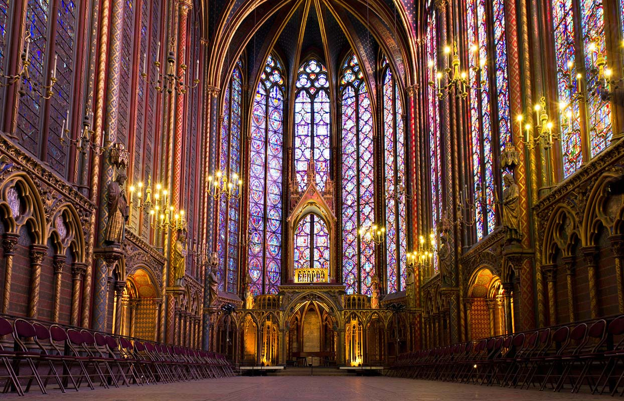 The Holy Chapel, Paris