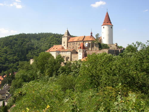 Křivoklát Castle in Czech Republic