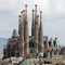 Sagrada Família church in Barcelona, Spain