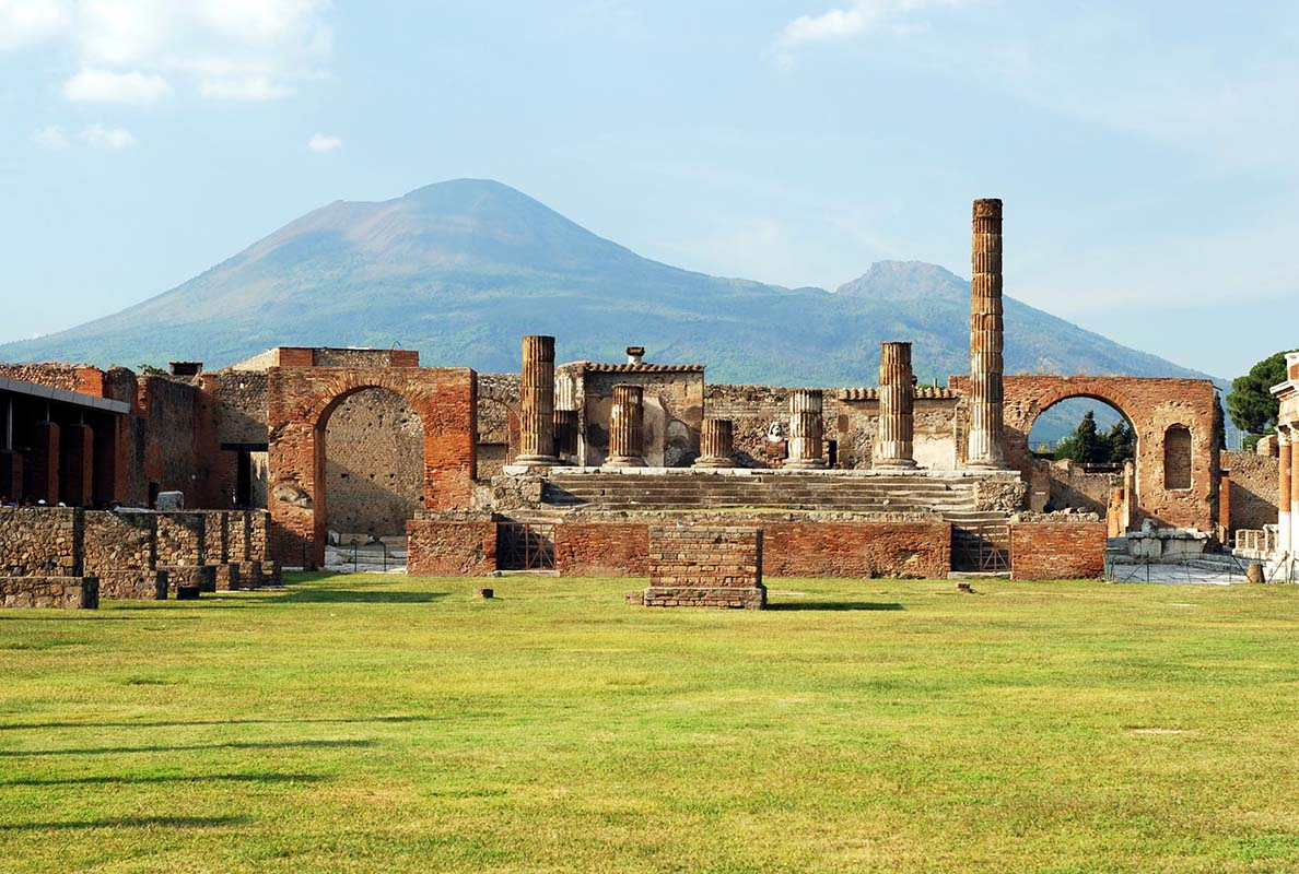 Archaeological Area of Pompei in Italy