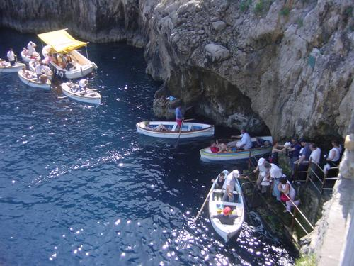 Blue Grotto in Italy