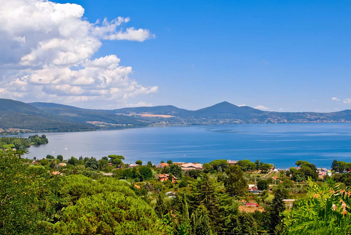 Lake Bracciano in Italy