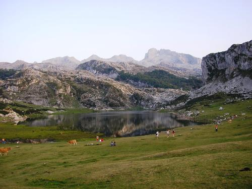 Picos de Europa National Park in Spain
