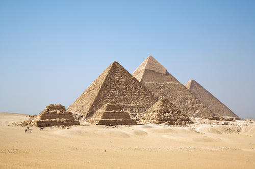 Great Pyramid of Khufu in Egypt